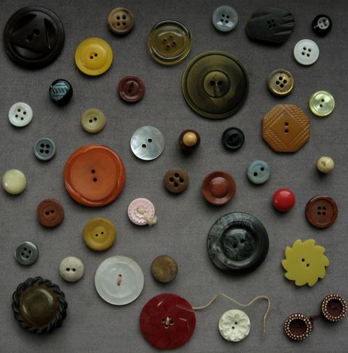 vintage button collection 2 by bricolagelife