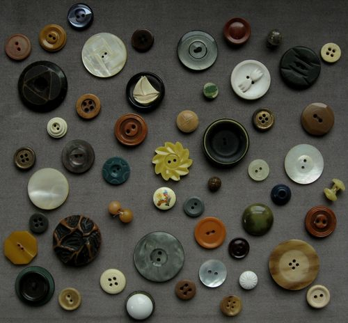 vintage button collection 4 by bricolagelife