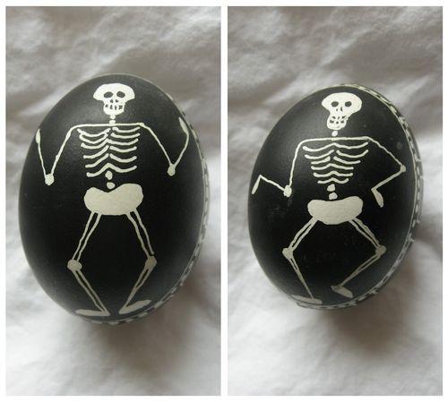 Pysanky skeleton