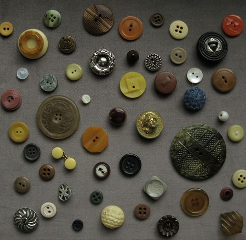 vintage button collection 3 by bricolagelife