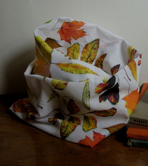 autumn leaves fabric by bricolagelife for sale at spoonflower