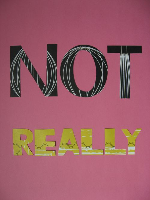 not really collage by bricolagelife 2011